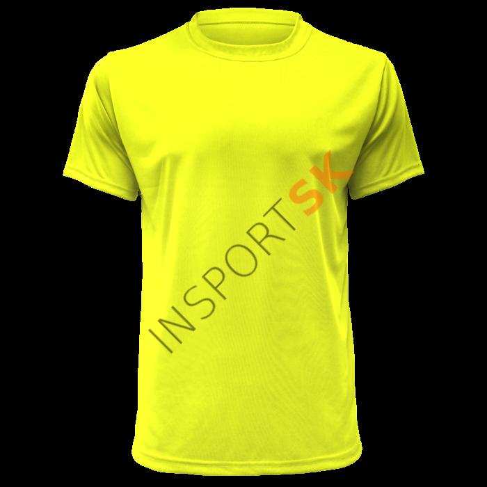 5500a1ea81d74 Športové tričko Montana / safety žlté | Insport SK | sport specialist