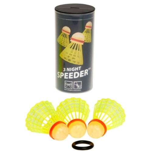 Speedminton NIGHT Speeder 3 ks