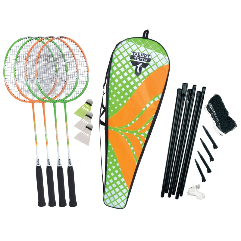 Bedmintonová sada Talbot Torro 4 ATTACKER PLUS set