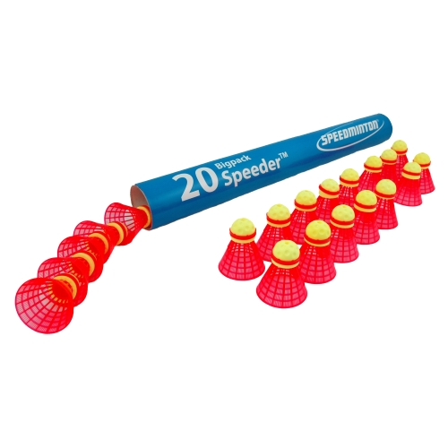 Speedminton FUN Speeder BigTube 20 ks