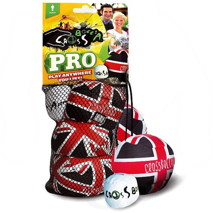 "Petanque sada Crossboccia PRO 3 ""Flagged"" Single Pack"