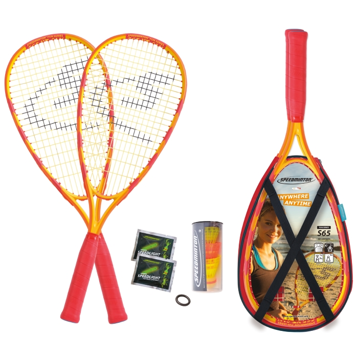 Crossmintonová sada SPEEDMINTON® S 65 ALU FUN set